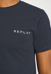 Replay - TEE - T-shirt basic - blue - 4