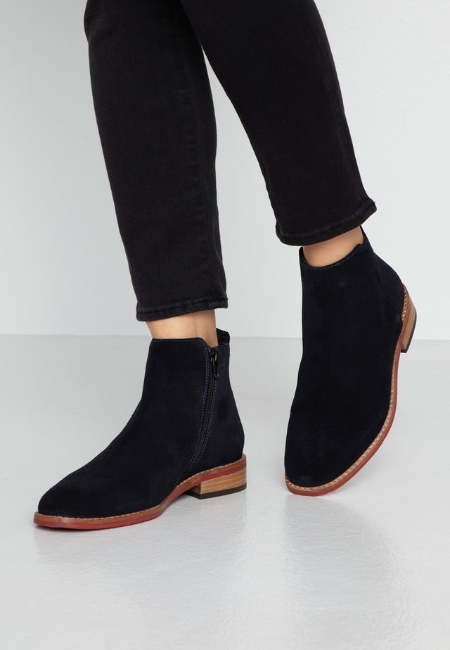 VERONA - Classic ankle boots - dark blue
