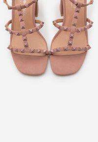 New Look - STAFFY - Sandály na vysokém podpatku - oatmeal - 5
