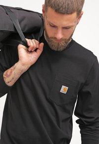 Carhartt WIP - POCKET  - Top sdlouhým rukávem - black - 3