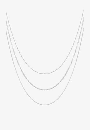 BLOGGER - Necklace - silver-coloured