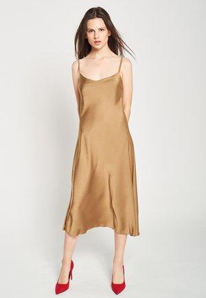 Cocktail dress / Party dress - golden green