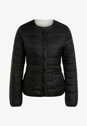 Winter jacket - white black