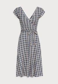 MIRA CARSON - Day dress - bluestone