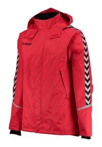 Hummel - Outdoor jacket - true red/black - 2