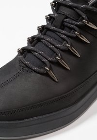 Timberland - DAVIS SQUARE HIKER - High-top trainers - black - 5