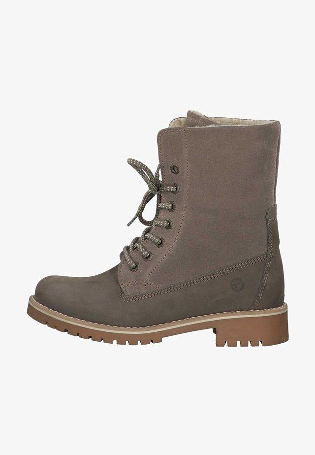 Boots à talons - taupe
