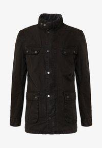 Barbour International - COLOURED DUKE CASUAL - Summer jacket - black - 5