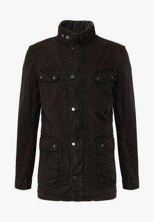 COLOURED DUKE CASUAL - Lehká bunda - black