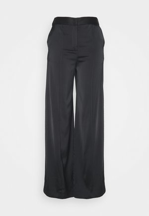 ROUSER - Trousers - black