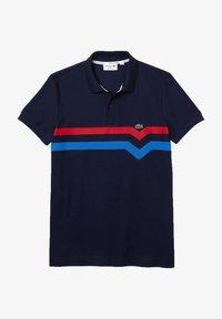Lacoste - SHORT SLEEVE - Polo shirt - bleu marine/rouge/bleu - 0