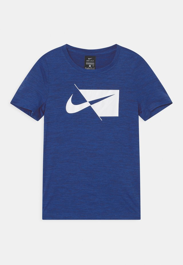 DRY  - T-shirt con stampa - blue void/white