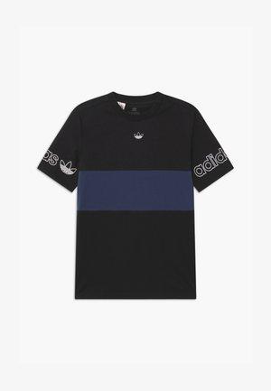 PANEL TEE UNISEX - Camiseta estampada - black