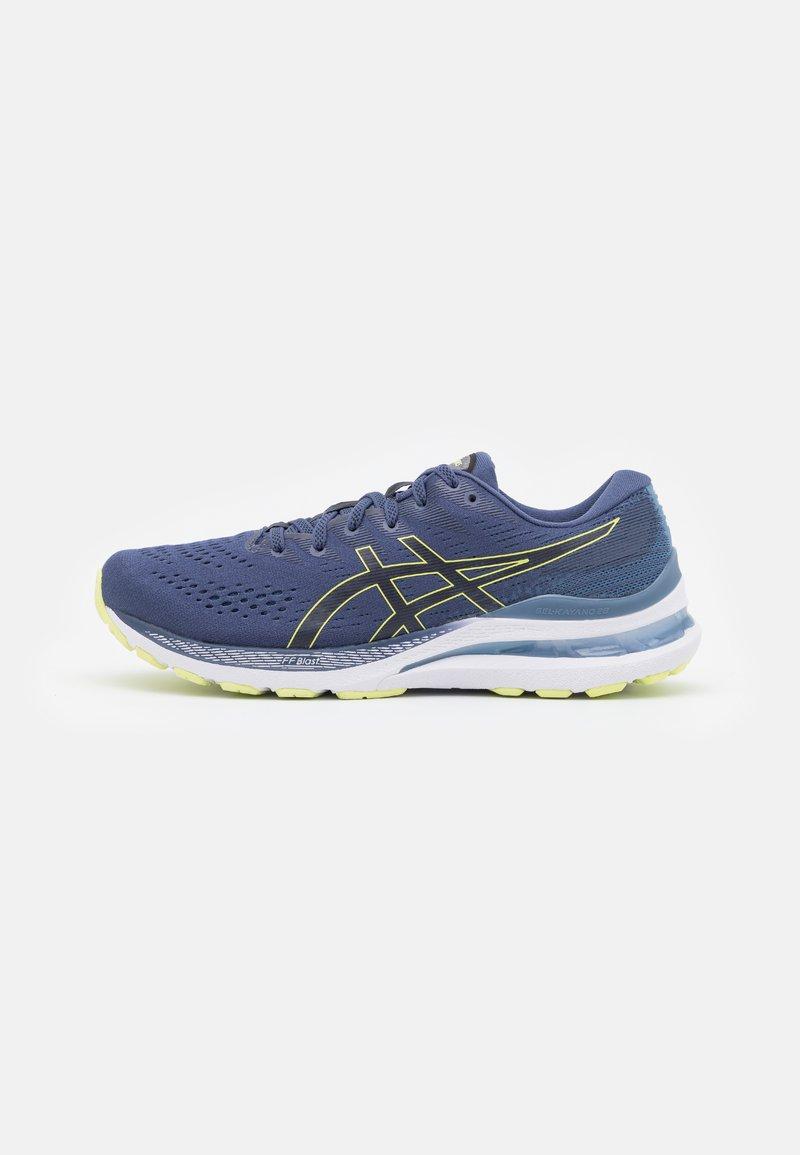 ASICS - GEL KAYANO 28 - Stabilty running shoes - thunder blue/glow yellow