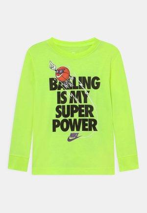 BALLING IS MY SUPER POWER - Longsleeve - volt
