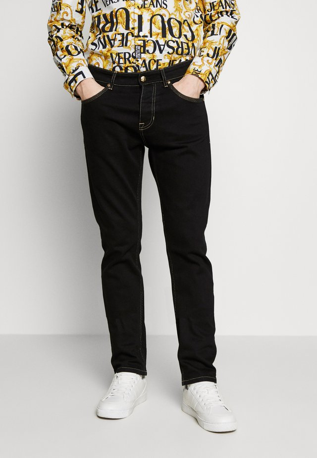 MILANO SLIM ICON - Slim fit jeans - black