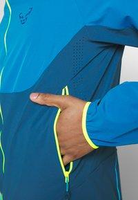 Dynafit - TRANSALPER - Outdoor jacket - mykonos blue - 6