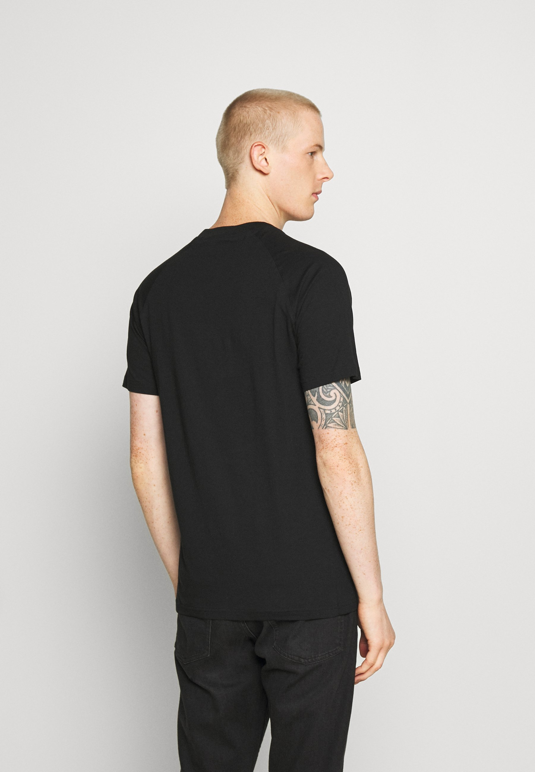 Jack & Jones JCOJEDI TEE CREW NECK  - Print T-shirt - black R1iD0
