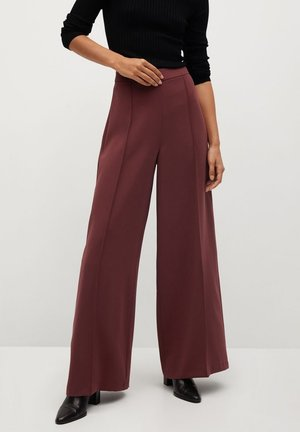 ELODY - Trousers - wine