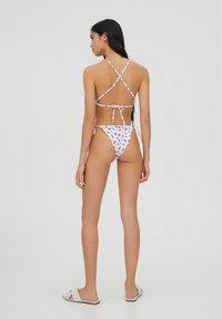 PULL&BEAR - Bikini top - white - 2