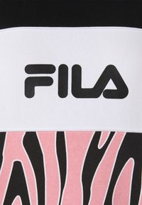 Fila - EMERIN BLOCKED CREW - Felpa - black/peony/bright white - 2