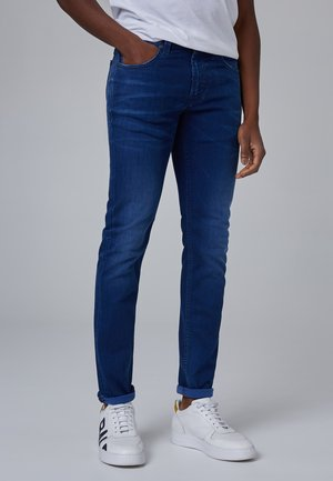 Slim fit jeans - blue used buffies