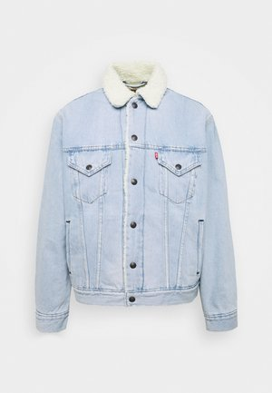 VTG FIT TRUCKER UNISEX - Denim jacket - dawn
