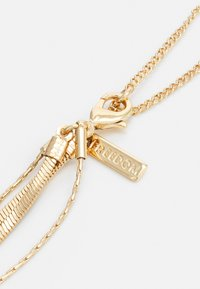 Topshop - RING DROP MUTLIROW - Necklace - gold-coloured - 1