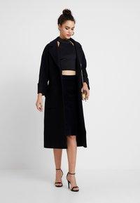EDITED - SANTO COAT - Classic coat - black - 1