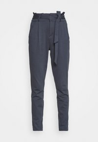 VMEVA LOOSE PAPERBAG PANT - Trousers - ombre blue