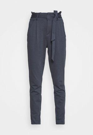 VMEVA LOOSE PAPERBAG PANT - Kalhoty - ombre blue