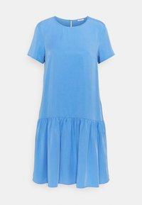 Marc O'Polo DENIM - DRESS SHORT SLEEVE - Day dress - intense blue - 0