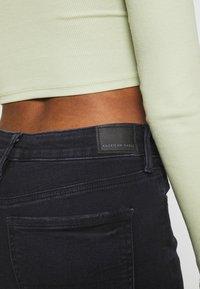 American Eagle - Slim fit jeans - black - 5