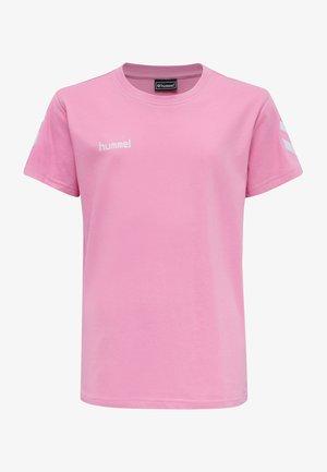 T-shirt z nadrukiem - cotton candy