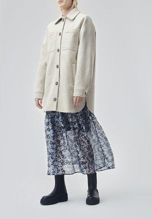 HELGA - Short coat - beige melange