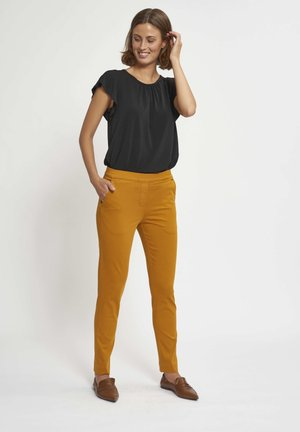 FANNY - Trousers - brown