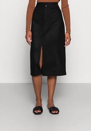 KIDA - A-line skirt - black