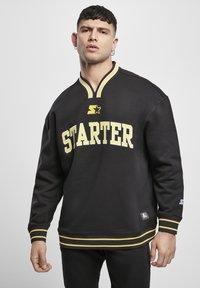 Starter - Collegepaita - black/golden - 0