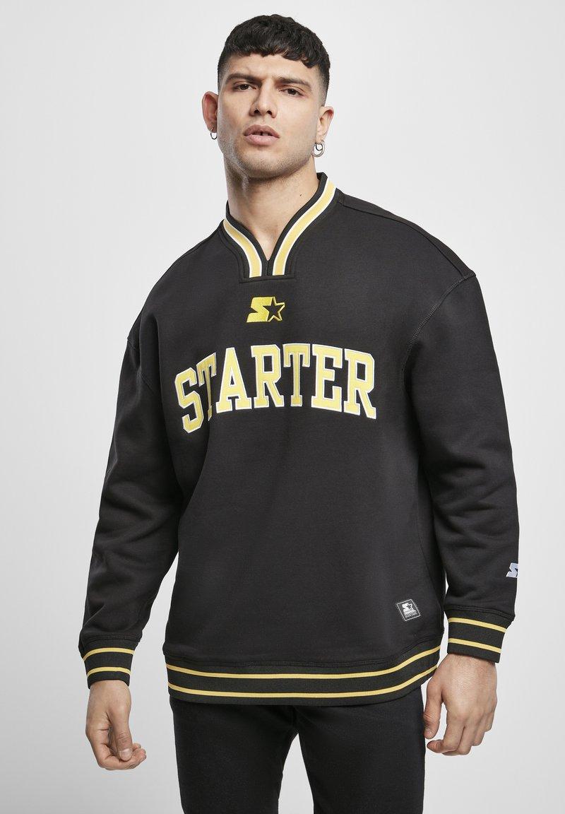 Starter - Collegepaita - black/golden