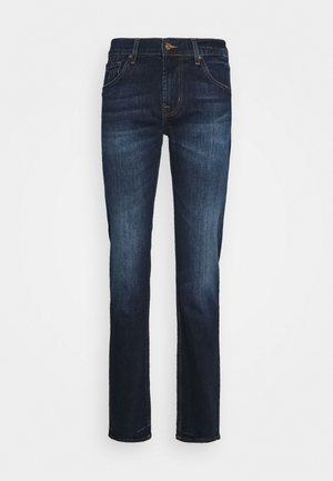 PEAK DEEP - Slim fit jeans - dark blue