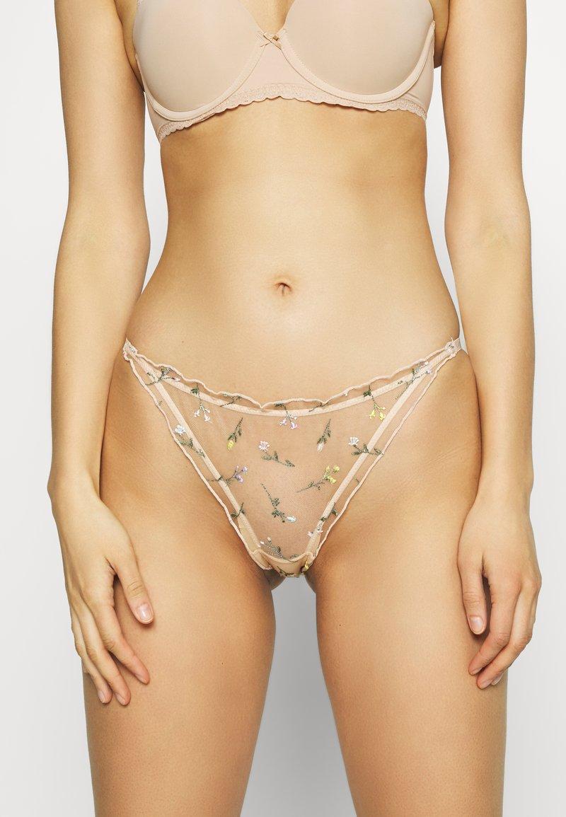 Etam - REVE - Kalhotky - nude
