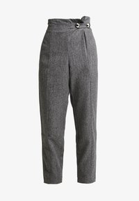 4th & Reckless - WASHINGTON TROUSERSLIM LEG WITH BUTTONS - Kalhoty - grey - 4