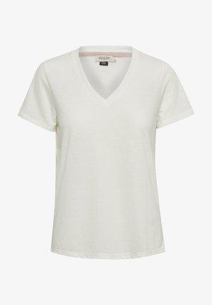 Basic T-shirt - white/creme