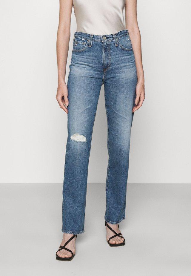 ALEXIS - Straight leg jeans - blue denim