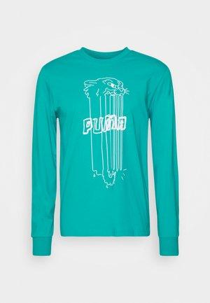 FRANCHISE STREET TEE - T-shirt à manches longues - viridian green