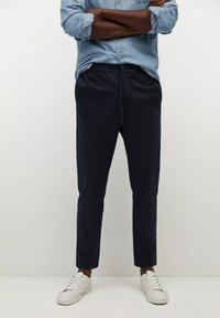 Mango - MATEO - Trousers - dunkles marineblau - 0