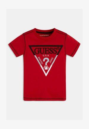 FRONTLOGO STICKEREI - T-shirt con stampa - rot