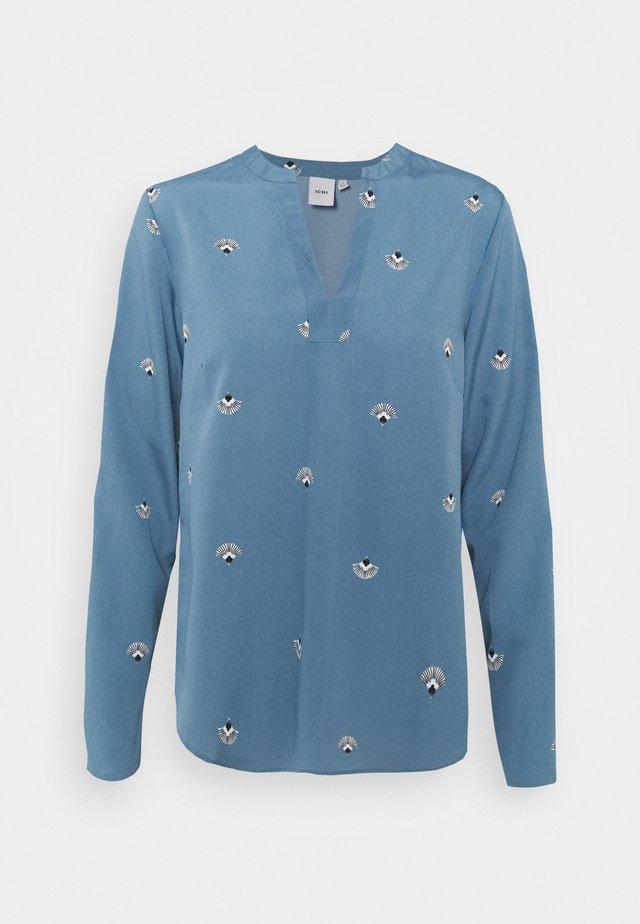 BRUCE  - Top sdlouhým rukávem - coronet blue