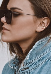 No More - LINE EAR CUFF - Earrings - silver - 1