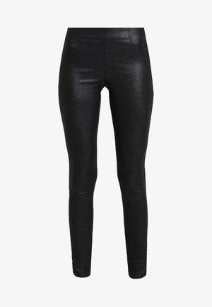 Trousers - black/glitter